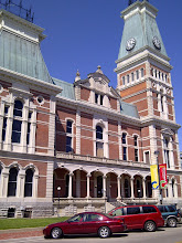Photo: former Courthouse, Columbus IN YRE