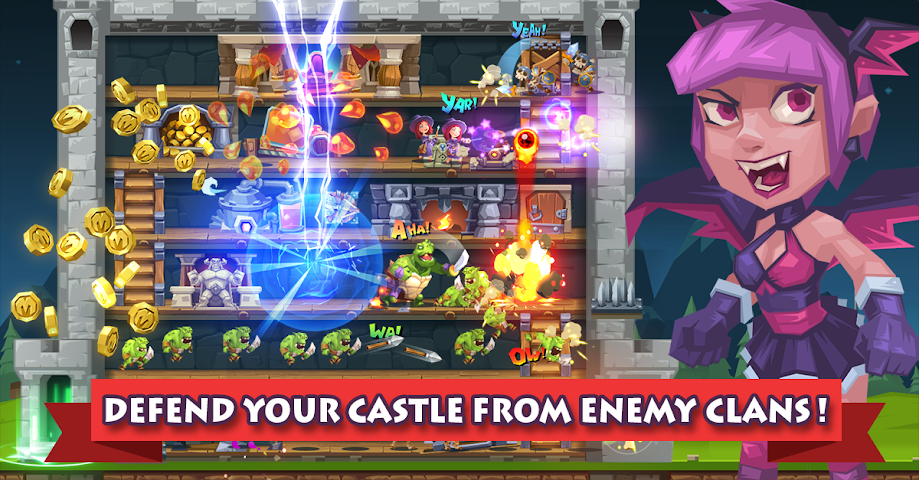 android Monster Castle Screenshot 1