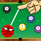 Spider Swing Ball Pool - pocket billiards