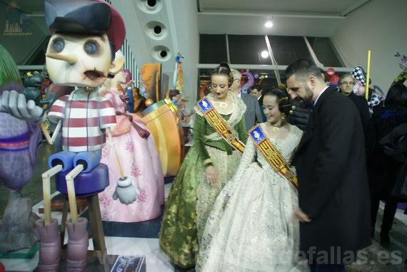 La Exposición del Ninot abre sus puertas, inauguración. #ExpoNinot18