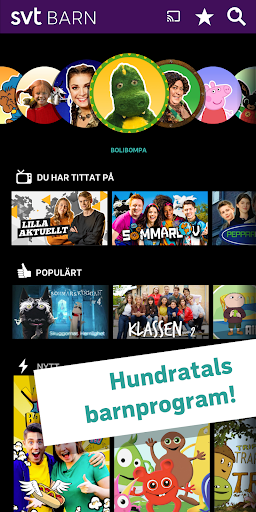SVT Barn screenshot