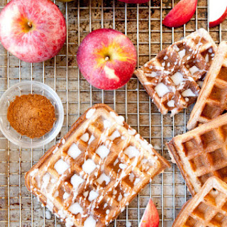 Paleo Apple Cider Waffles.