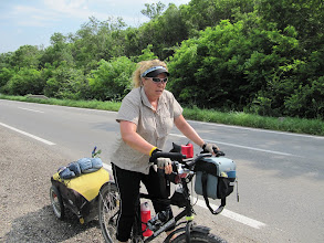 Photo: Day 79 - The Hill out of Sremski Karlovci (4.5 Km Long!) #2