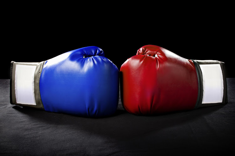 Boxing gloves. File photo.