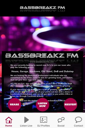 BASSBREAKZ FM RADIO APP