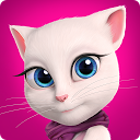 Talking Angela mobile app icon