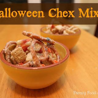 Halloween Chex Mix.