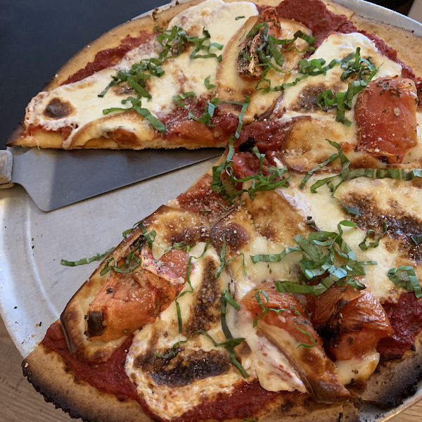 Gluten free blaze Neapolitan pizza