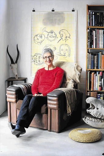 PORTRAIT OF THE ARTIST: Ingrid Winterbach in one frame