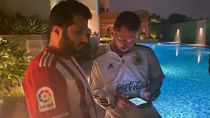 El jeque que quiere a Messi cuando sea