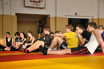 Photo: Den juda 3 v rámci hodin tělesné výchovy (tělocvična školy, úterý 10. prosinec 2013).