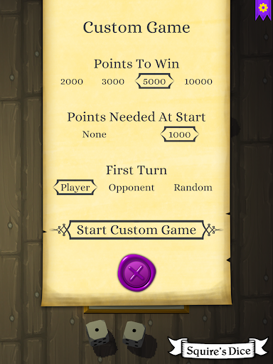 Squire's Dice 1.1.1 screenshots 8