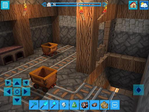 AdventureCraft: 3D Block Building & Survival Craft  screenshots 3