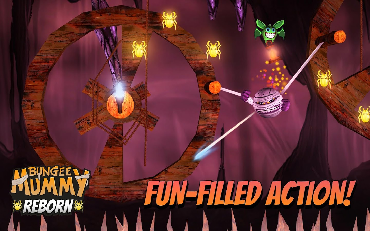 Bungee Mummy: Reborn- screenshot