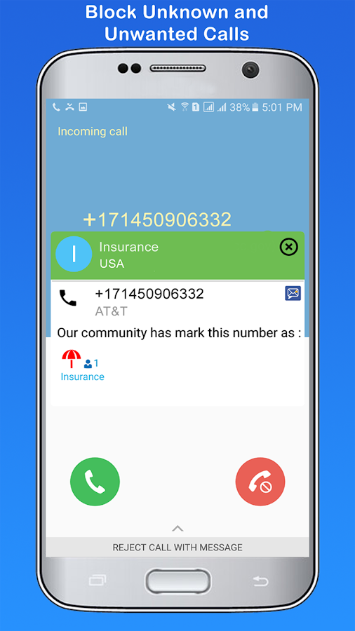 CleanMessaging:SMS&CallBlocker- screenshot
