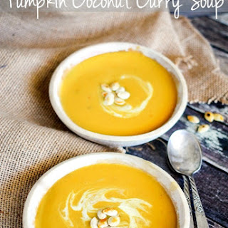 Pumpkin Soup With Coconut Cream Recipes