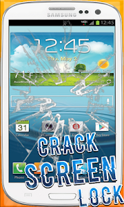 Crack screen Lock screenshot 3