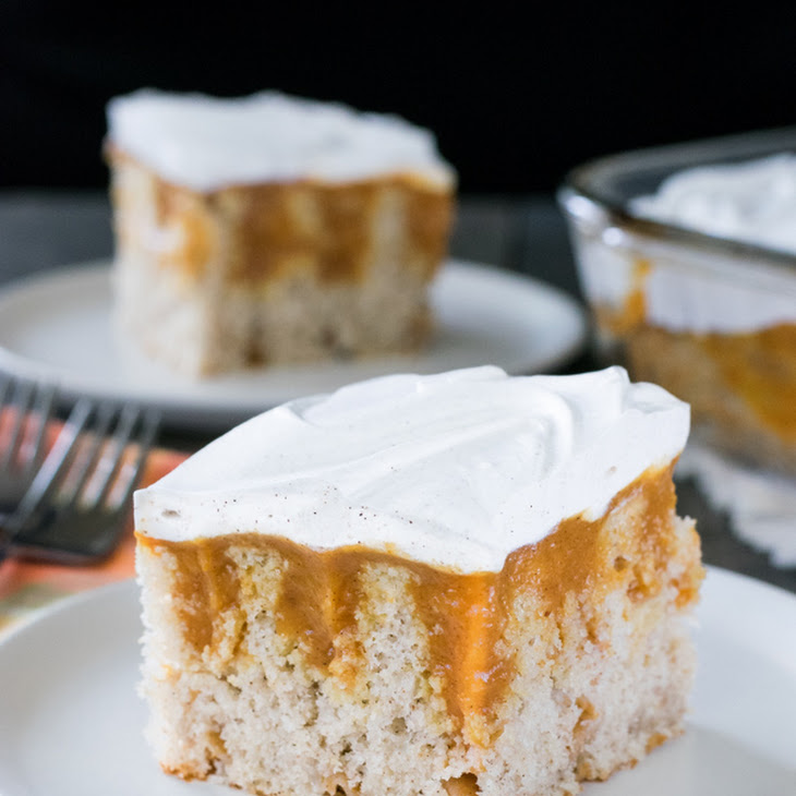 Pumpkin Spice Pudding Cake Recipe