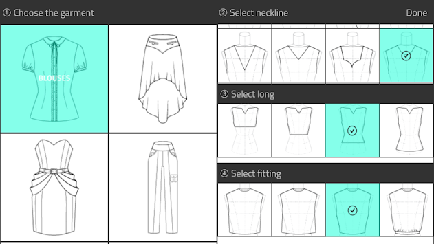 Fashion Design Flat Sketch APK screenshot thumbnail 1