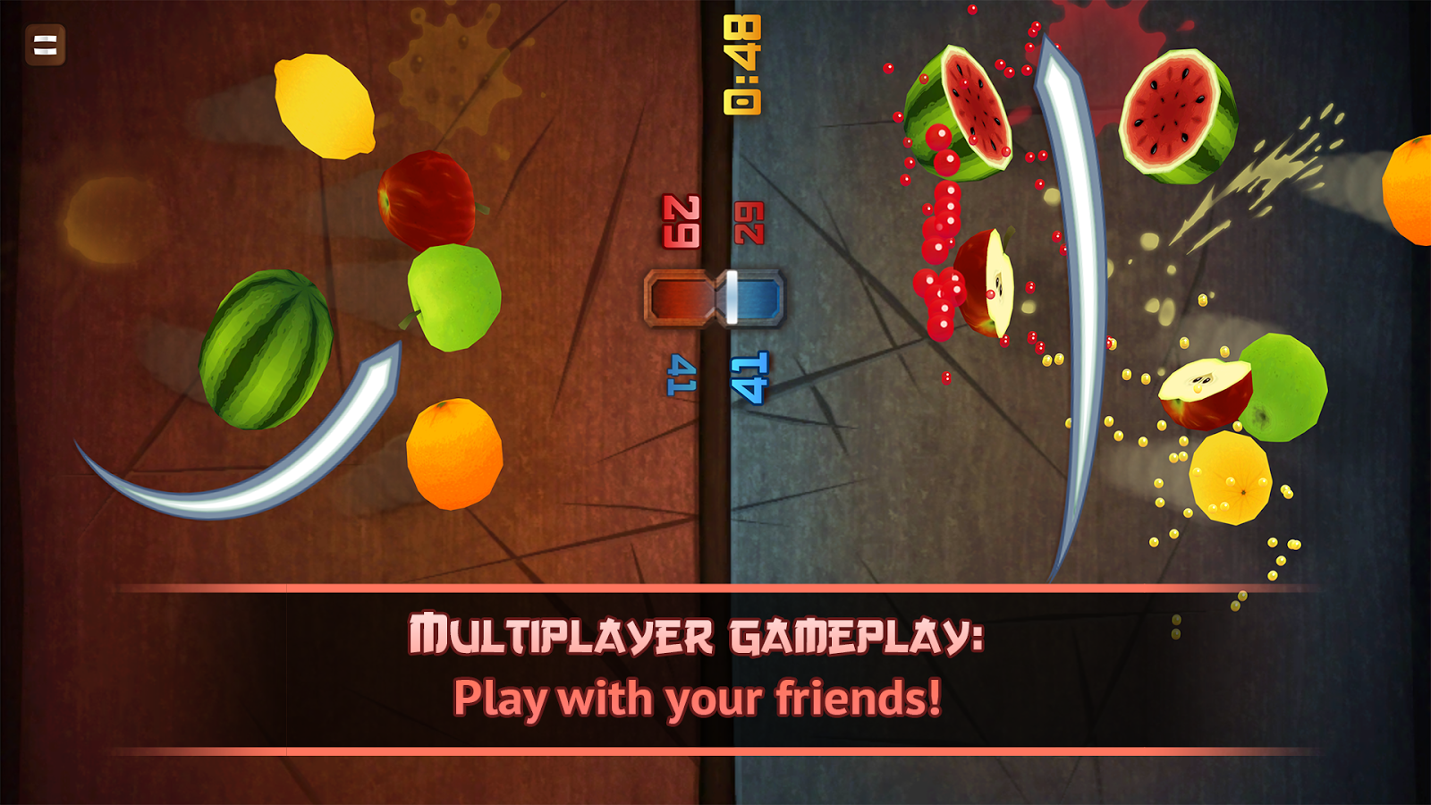 Fruit Ninja Classic: captura de pantalla