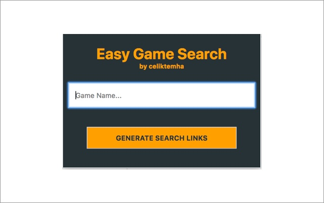 EasyGameSearch