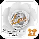 Cool wallpaper-Monochrome Rose icon
