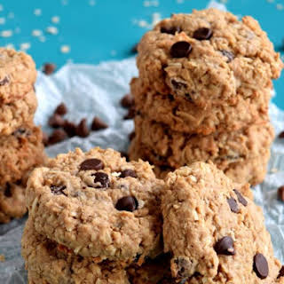 Oatmeal Coconut Chocolate Cookies.