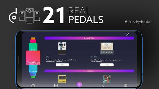 Guitar Effects Pedals, Guitar Amp - Deplike 5.5.21 screenshots 3