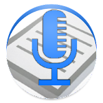 Speech To Text Notepad Icon