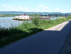 Photo: Die Brücke führt nach Neuwied und weckt Erinnerungen