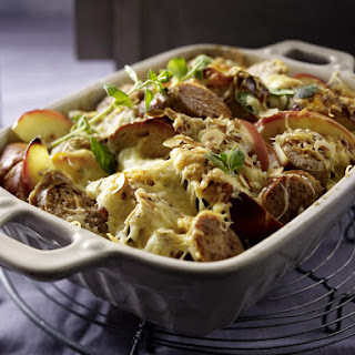 Sausage and Apple Bake