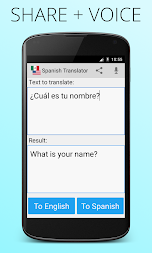 Spanish English Translator APK screenshot thumbnail 4