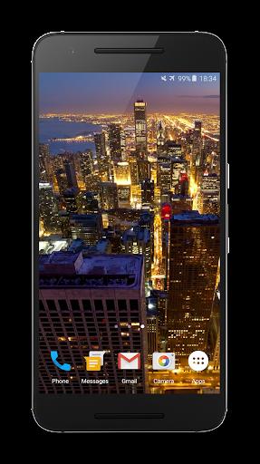 芝加哥4K视频动态壁纸