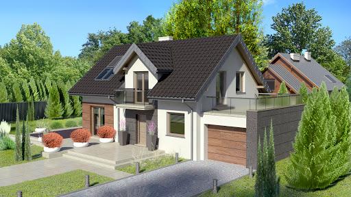 projekt Dom przy Alabastrowej 2