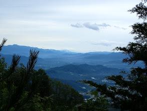左から熊伏山・竜頭山・亀沢山など