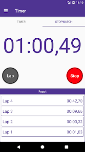 Timer and Stopwatch for Android 2018 - náhled