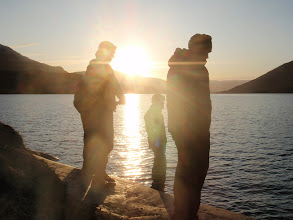Photo: Greenland - Fishing at the end of Day 7