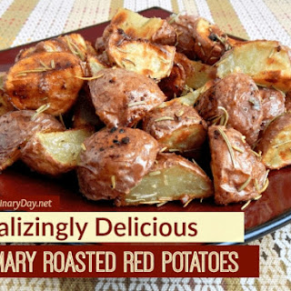 Rosemary Roasted Red Potatoes are Amazing!
