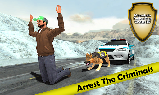 Mountain Police Dog Chase 3D