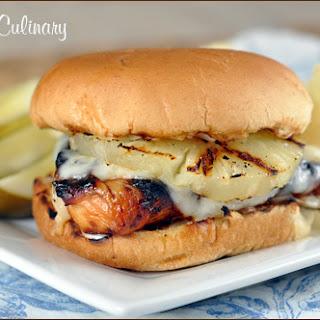 Hawaiian Grilled Chicken Sandwiches Recipe