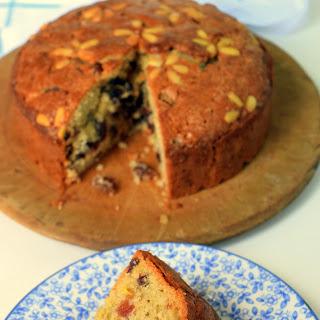 Sultana & Pine Nut Cake.