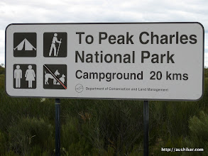 Photo: To Peak Charles - Only 20 kms to go
