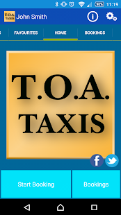 TOA Taxis Birmingham- screenshot thumbnail