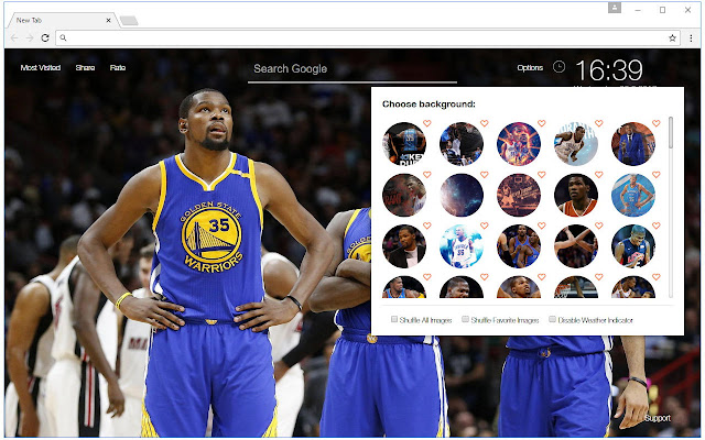 Kevin Durant Wallpaper Hd New Tab Nba Themes