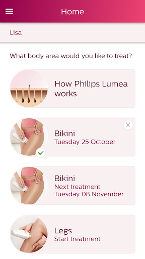 Philips Lumea IPL  screenshots 1