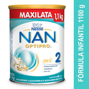FÓRMULA INFANTIL NESTLE   NAN OPTIPRO 2 X1.100G