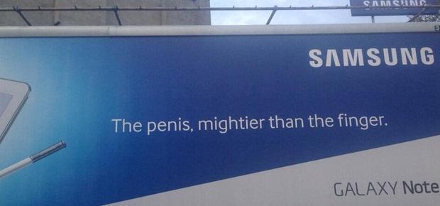Is Samsung itself behind these Photoshop jokers' work?
