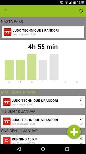Athlete Analyzer Judo screenshot