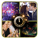 Happy New Year Collage Maker icon