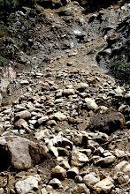 Photo: Rock slide